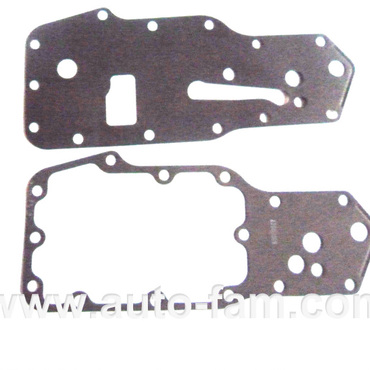 Engine 4BT oil cooler core gasket