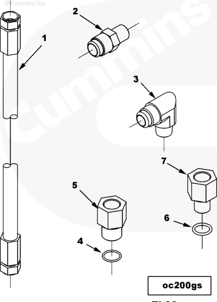 10# Pipe Fitting 43764-20