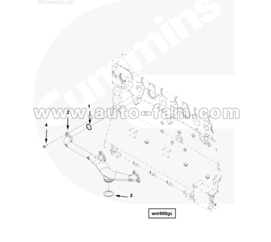 ISG 2865048 Diamond seal ring