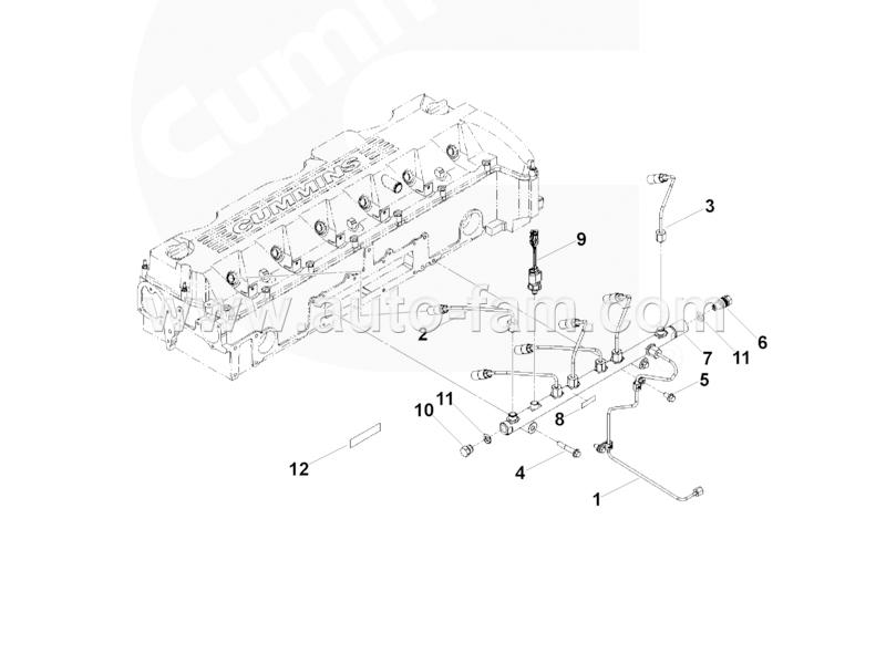 ISG5461798 Rail Pressure Sensor