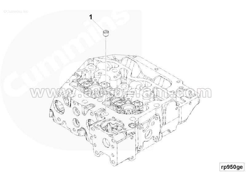 ISG 3008466 Pipe plug