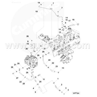 ISG5371096 spring hose clamp